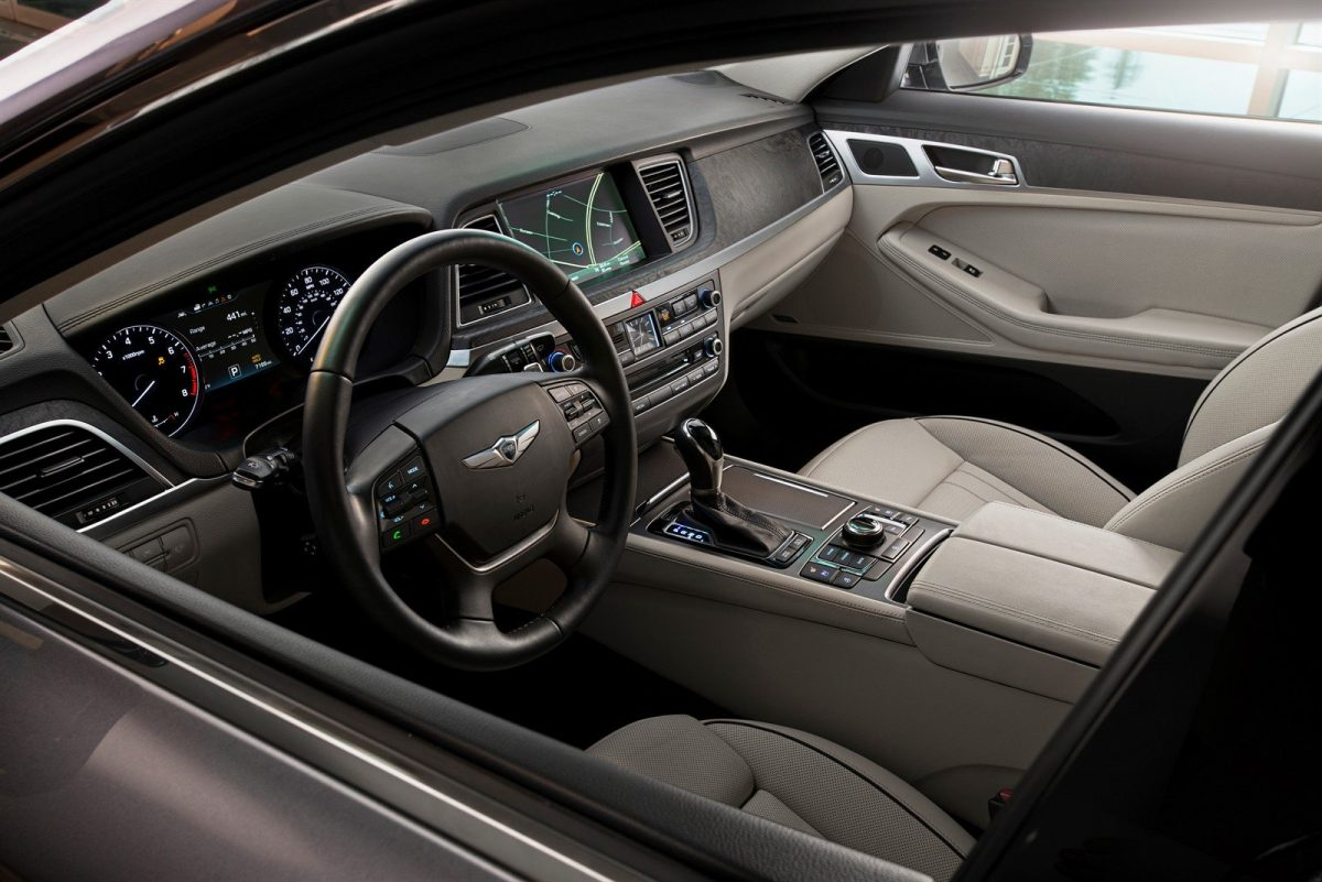 Best New Interior - 2015 Hyundai Genesis (this is the base)