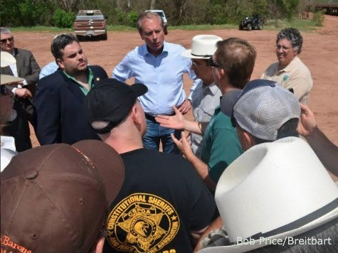 Texas Ranchers Briefed Lawmakers, Locals on BLM/Red River Land Dispute