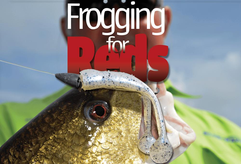 Frogging for Redfish