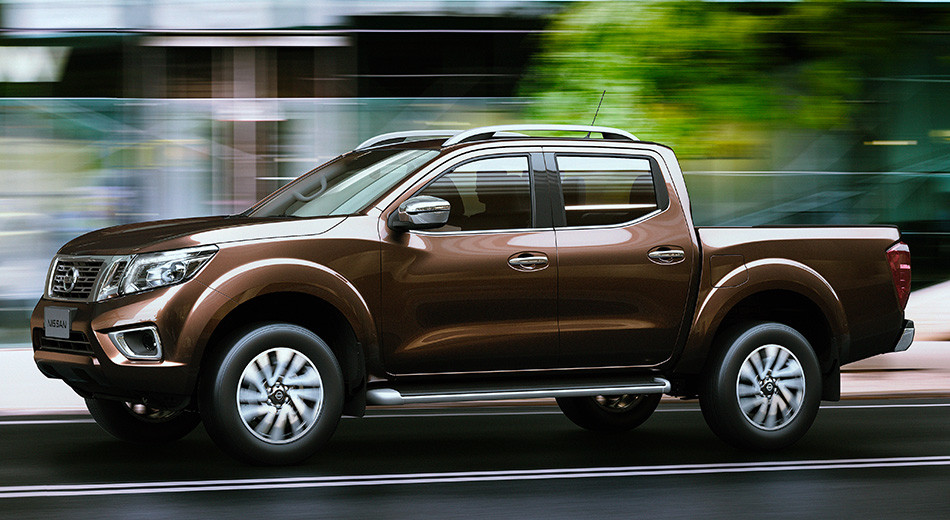 The 2015 Nissan Navara mid-size truck introduced in Thailand last week.