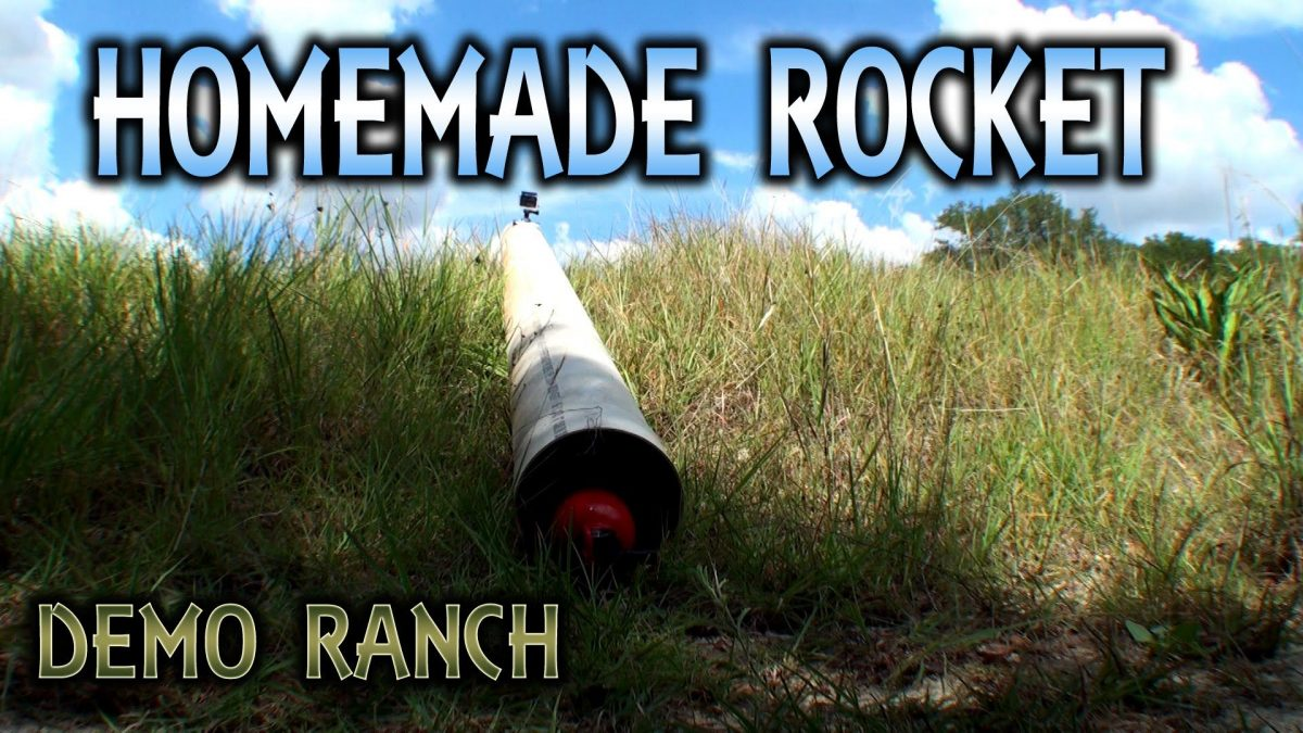 Turn Your Fire Extinguisher into a Rocket