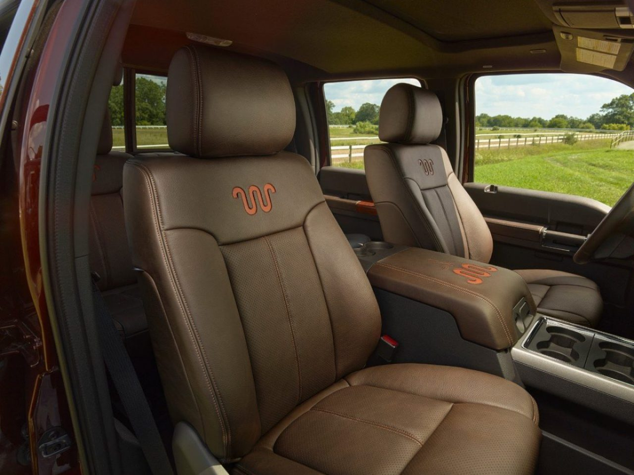 F-250 with King Ranch interior