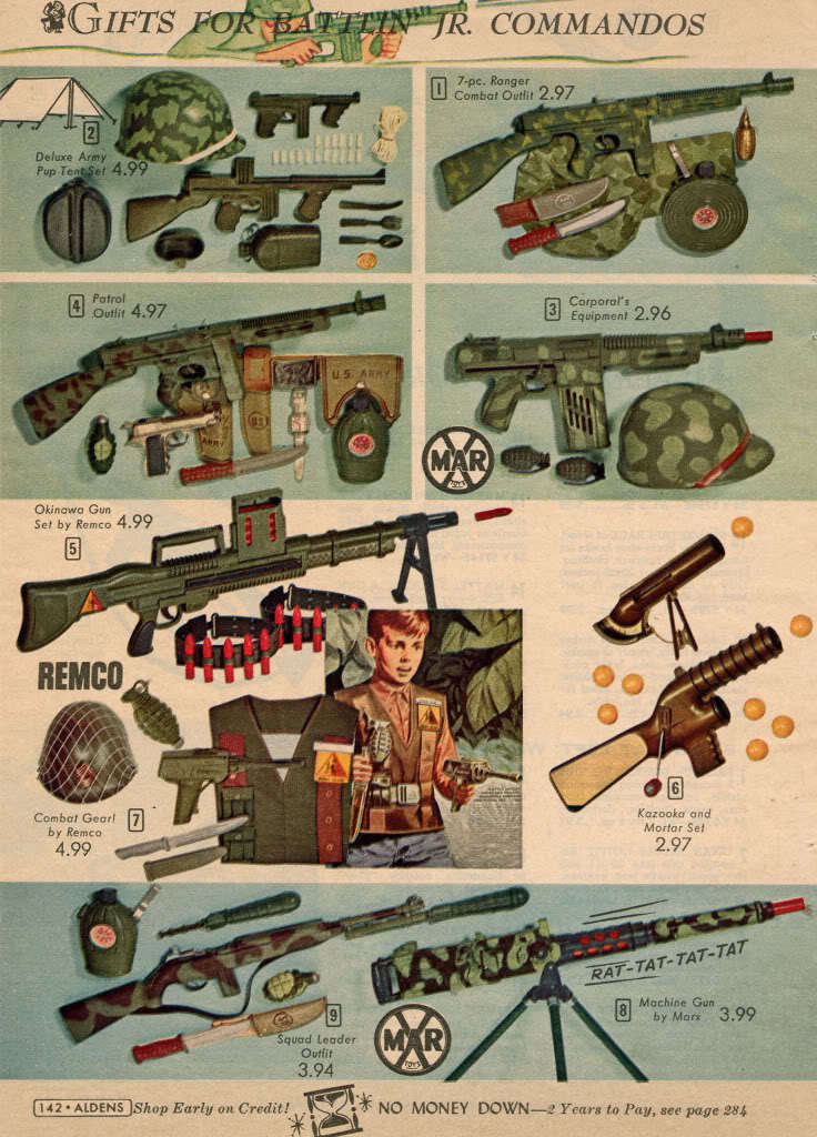 Toy Guns Before Political Correctness (pics)