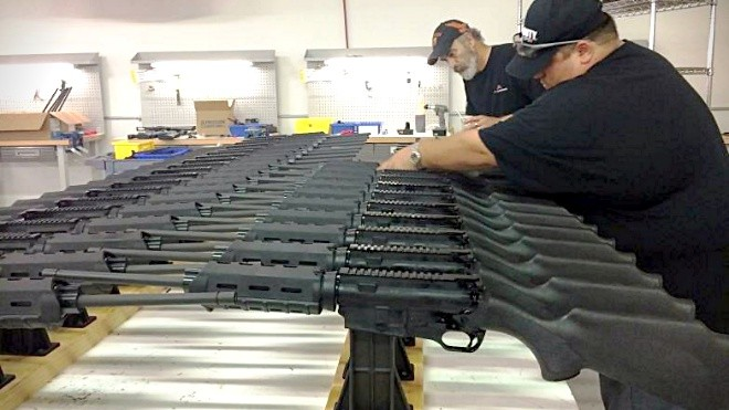 Ares SCR 'featureless' rifles now shipping