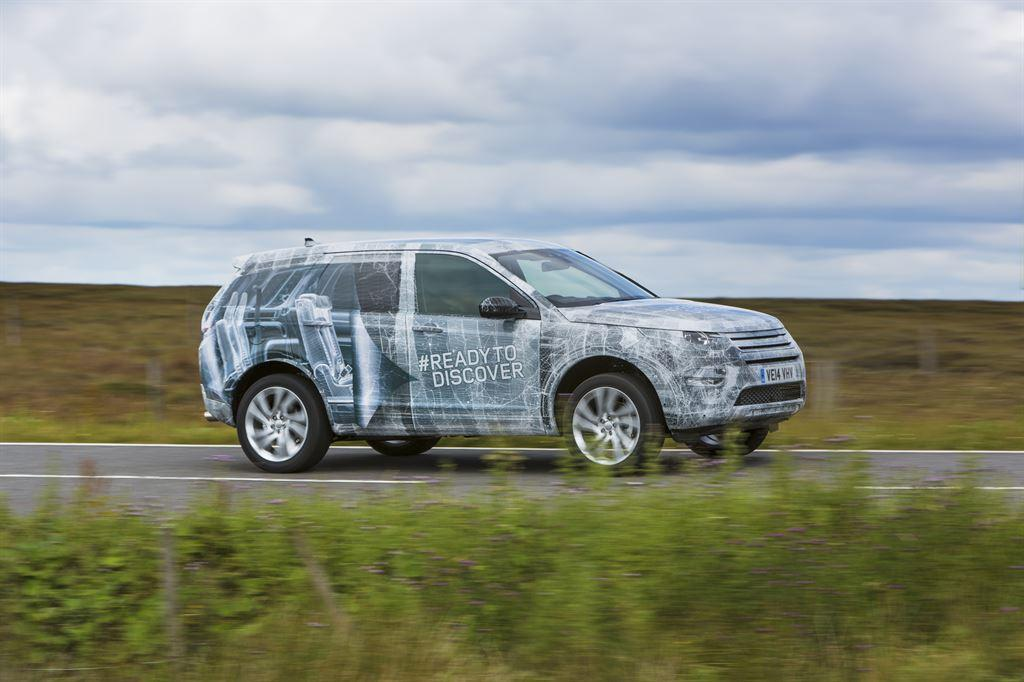 Land Rover previews Discovery Sport with third row seating