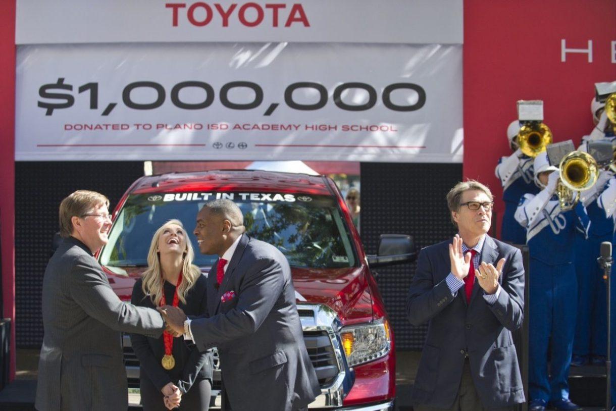 Toyota Plano on October 27, 2014.