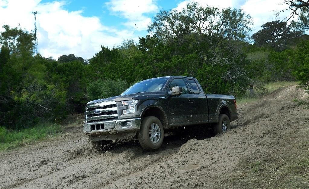 On gravel road
