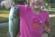 Laney's 1st Fish