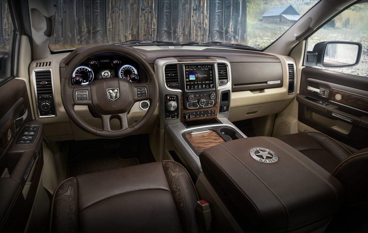 Interior of the Texas Ranger Edition