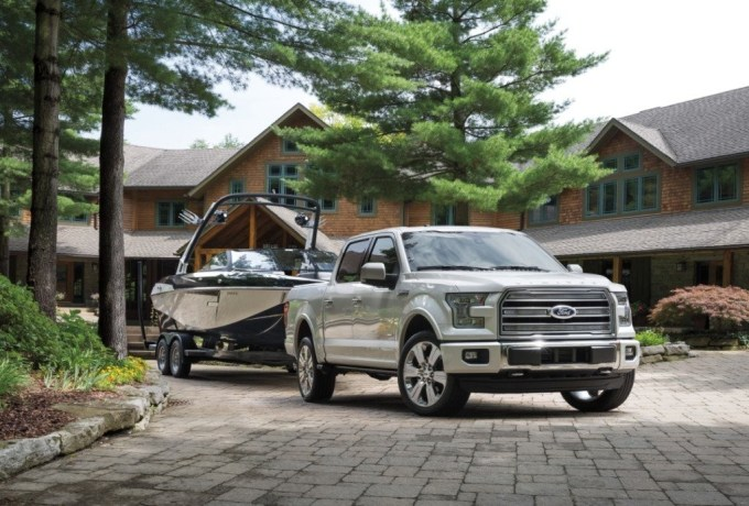 Top of the line Ford F-150