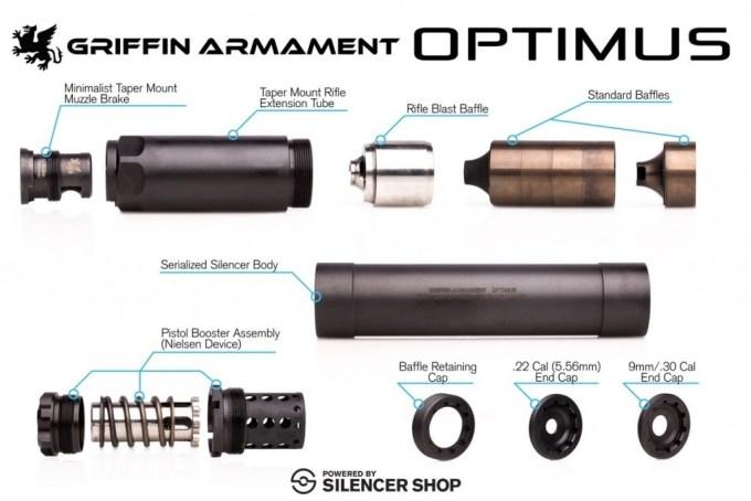 optimus parts
