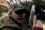 Razor Dobbs 10mm Auto Handgun Whitetail Rock Blind Hunt