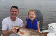 Daughters First Redfish - Texas Hotshots