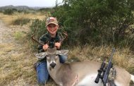 Texas Hotshots - First buck DOWN!