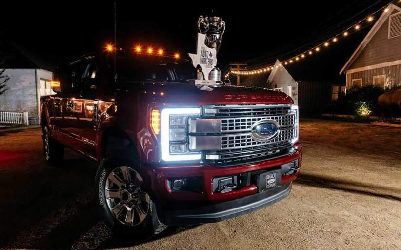 Texas Auto Writers name 2017 Ford SuperDuty Truck of Texas