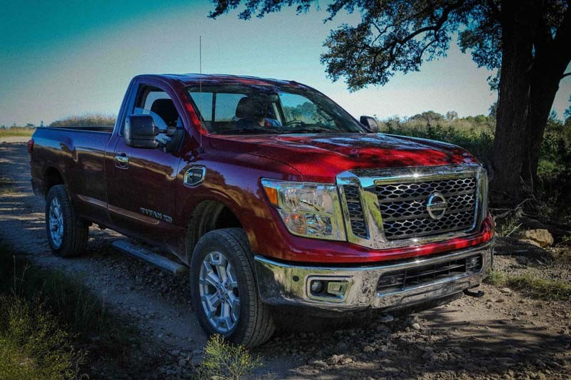 "The 2017 Nissan TITAN XD stakes out a unique position in the segment between traditional heavy-duty and light-duty entries. In its 2016 Texas Truck Rodeo, the Texas Auto Writers Association (TAWA) named the TITAN XD Single Cab Diesel the ""Commercial Vehicle of Texas."" The truck is a true workhorse designed to tackle the toughest jobs, powered by the Cummins® 5.0L V8 Turbo Diesel, which is rated at 310 horsepower and 555 lb-ft of torque."