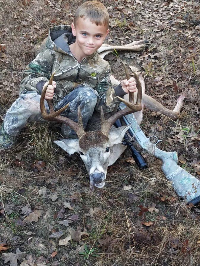 Gavin's first deer