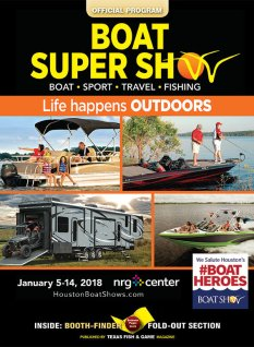 2018 Houston Boat Show program cover