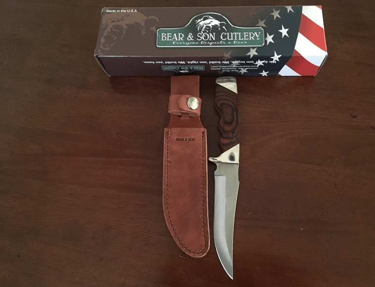 Review Bear Amp Son Trophy Hunter Fixed Blade Knife Texas