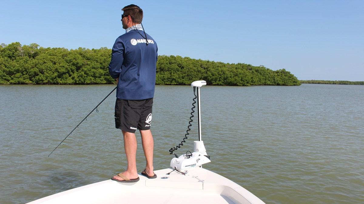 fishing with fishing line