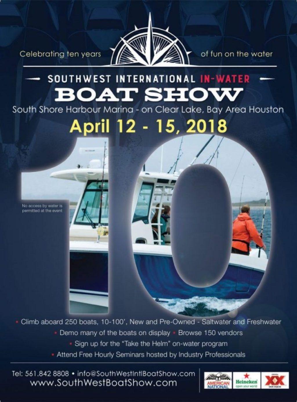Southwest International In-Water Boat Show
