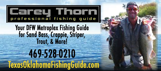 Carey Thorn Professional Fishing Guide