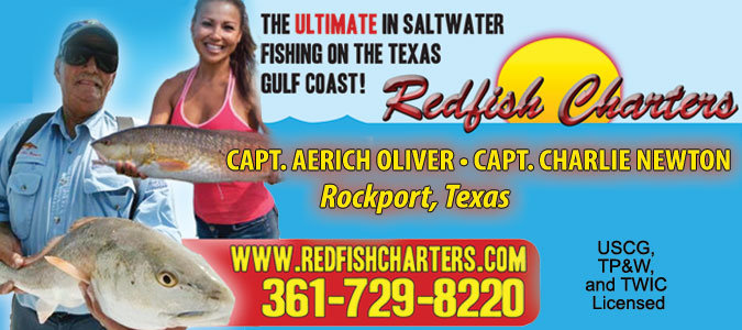 redfish charters
