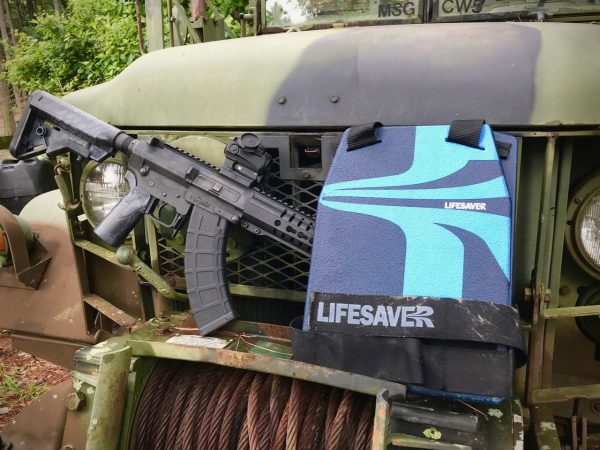 Testing The LifeSaver Armored plates up to 7.62x39mm and .223