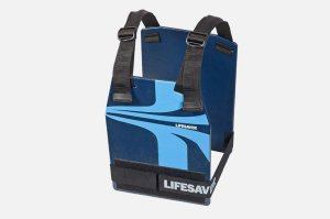 LifeSaver Armor complete with adjustable straps