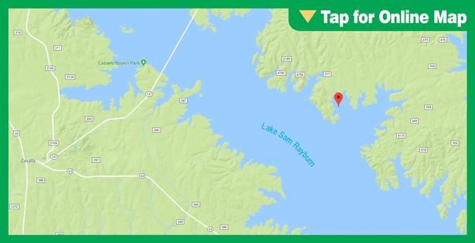 Sam Rayburn Reservoir: Main Lake