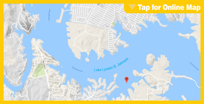 Lake LBJ: Horseshoe Bay Area