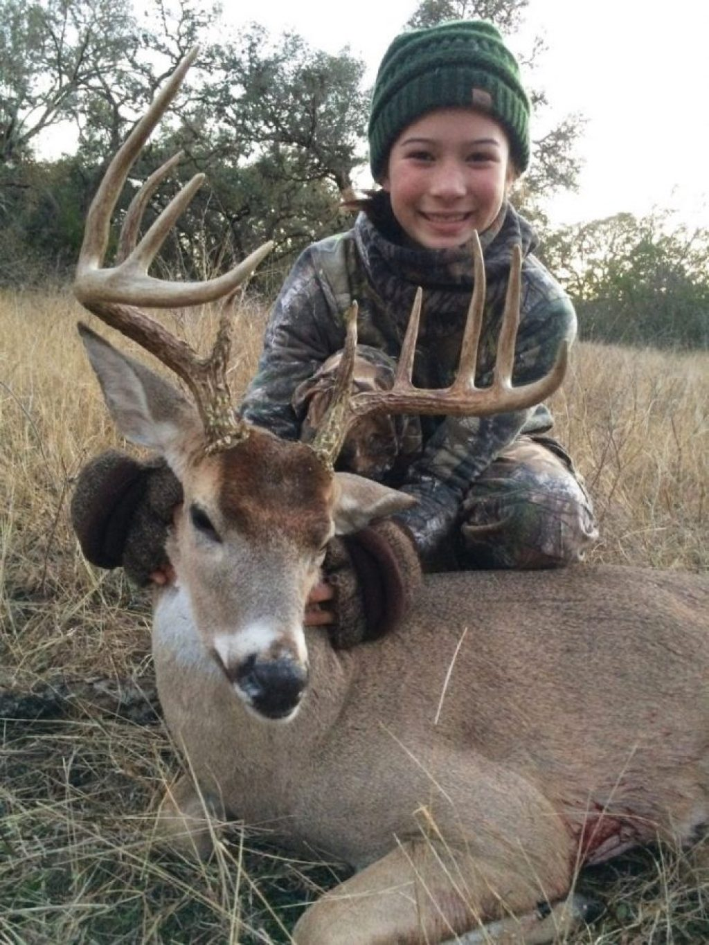 ten-point Goliad County buck