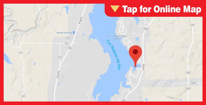 Ft. Phantom Hill Reservoir: Main Lake