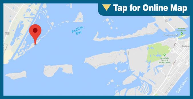 Redfish Bay: Dagger Island