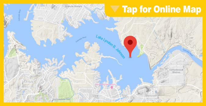 Lake LBJ Hotspot: Kelly AFB Park Point