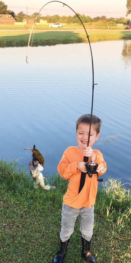 cute kid bass