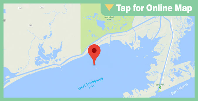 Matagorda Bay HOTSPOT: Shell Island