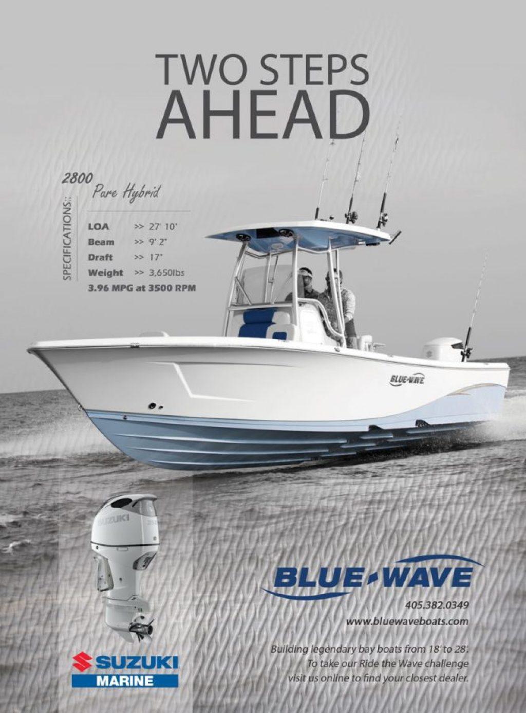 Blue Wave Boat