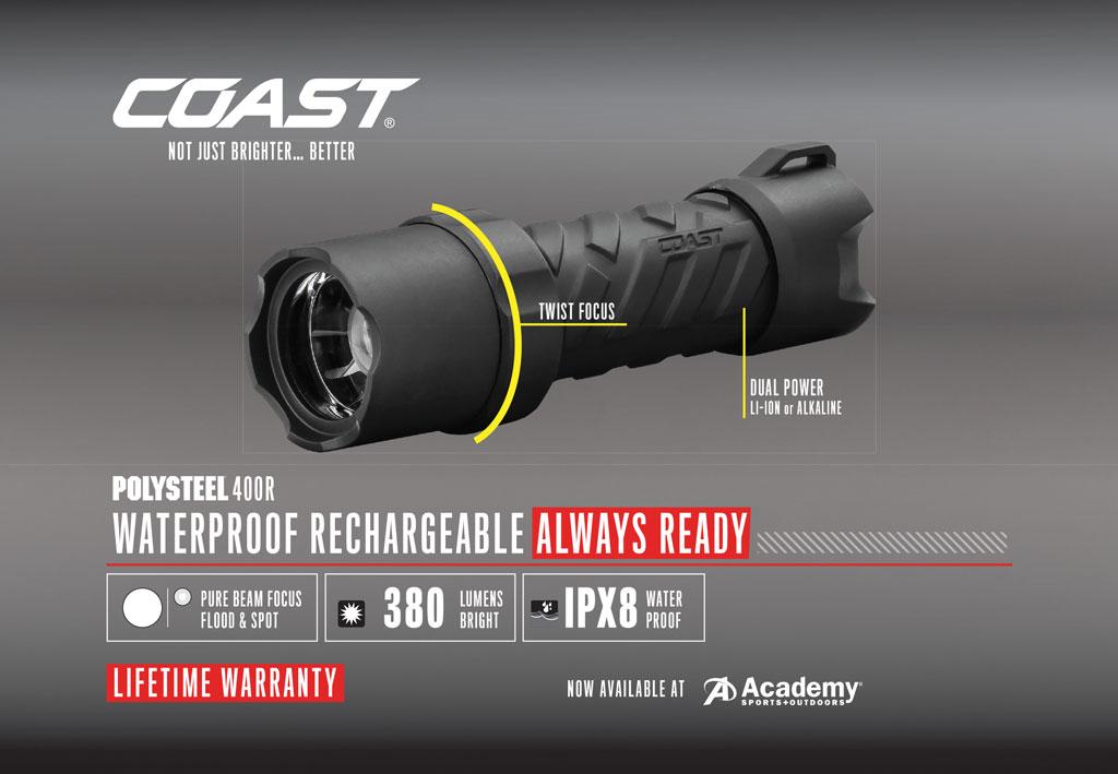Coast Polysteel 400R