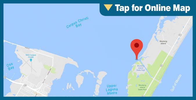 Corpus Christi Bay HOTSPOT: Mustang Island/Fish Pass