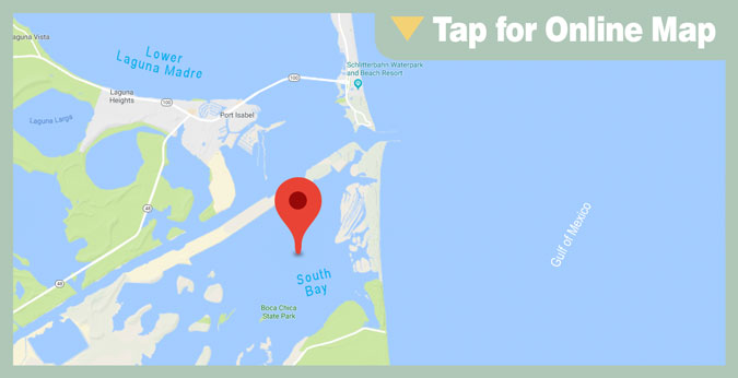 Lower Laguna Madre HOTSPOT: South Bay East Table Top
