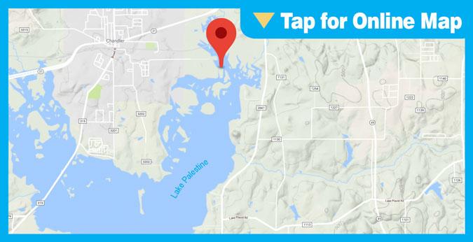 Lake Palestine HOTSPOT: Cades Cove Area