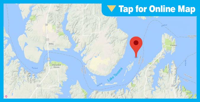 Lake Texoma HOTSPOT: North Island and Tabletop