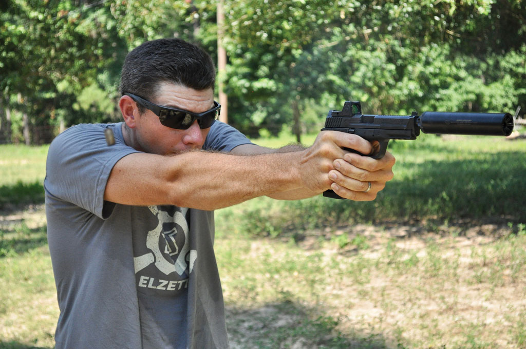 Conditioning your body to find its natural point of aim will increase your speed and accuracy with all firearms.