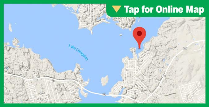 Lake Livingston HOTSPOT: The Pocket Near Riverside