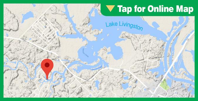 Lake Livingston HOTSPOT: Harmon Creek Area