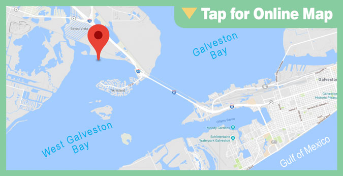 Galveston West Bay HOTSPOT: Jones Bay Shoreline