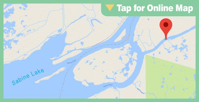 Sabine Lake HOTSPOT: Black Bayou