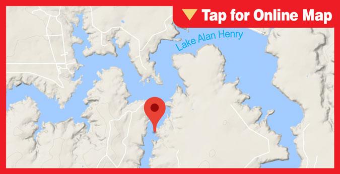 Lake Alan Henry HOTSPOT: Main Lake