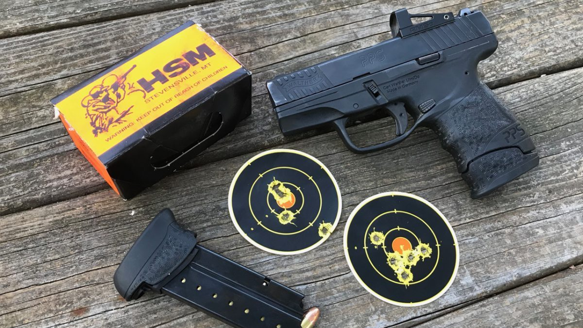 Walther PPS M2 with Shield RMSc Red Dot - Texas Fish & Game Magazine